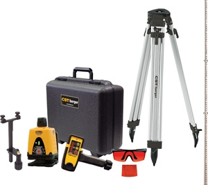 CST/berger Manual-Leveling Rotary Laser Level Package 57-LM30PKG ES1281