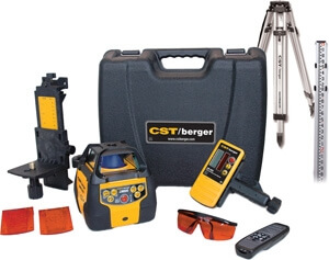 CST/berger LM800 Rotary Laser Level Complete Package 57-LM800PKG ES1395