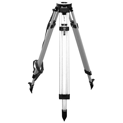 CST/berger Quick-Clamp Aluminum Flat Head Contractor's Tripod 60-ALQCI20 (2 Colors Available) ES5213