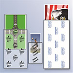 Peep Squirrel White Sign Bags (8 Sizes Available) ET10331