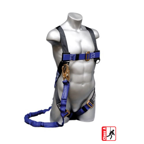 Elk River Construction Plus Series Safety Harness with 6 ft NOPAC with Snaphook - 48013