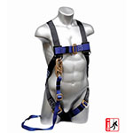 Elk River Construction Plus Series Safety Harness with 6' Zorber Lanyard - 48173 ET10056