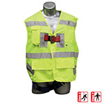 Elk River Freedom Safety Vest Harness - Safety Green - 55394 ET10073