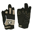 Gatorback Fingerless Work Gloves - 633 (3 Sizes Available) ES9752
