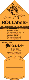 ROLLabels Junior - Fluorescent Orange (JROR)