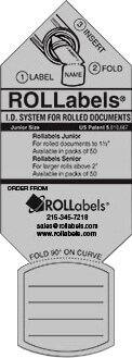 ROLLabels Junior - Pastel Gray (JRPGY)
