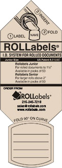 ROLLabels Junior - Pastel Ivory (JRPIV)