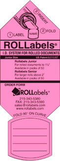 ROLLabels Junior - Fluorescent Pink (JRPK)