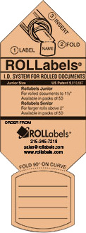 ROLLabels Junior - Pastel Peach (JRPPC)