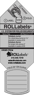 ROLLabels Senior - Pastel Gray (SRPGY)