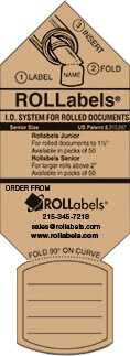 ROLLabels Senior - Pastel Tan (SRPTN)