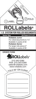 ROLLabels Senior - White (SRWH)