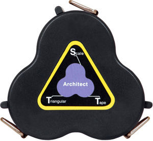 Architect's Triangular Scale Tape 9006-01