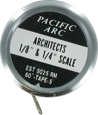 Pacific Arc Pocket Estimators Tape ES1388 5025