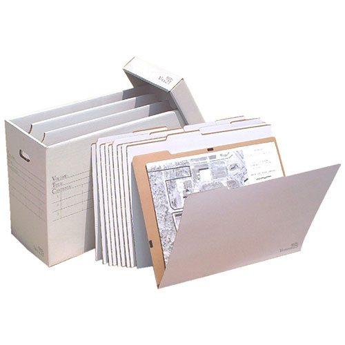 "VFile25 with 10 VFolder25's (Up to 18""x24"") ES101"