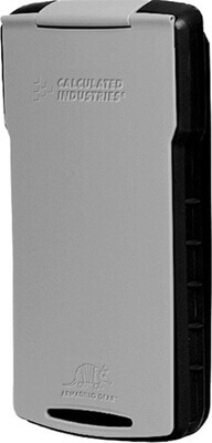 Calculated Industries Armadillo Gear Calculator Hard Case (Black/Gray) 5022-2 ES1307