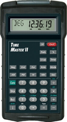 Calculated Industries Time Master II Calculator 9130 ES1327