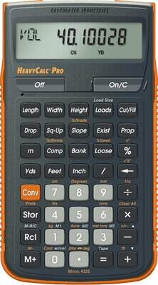 Calculated Industries HeavyCalc Pro 4325 ES23