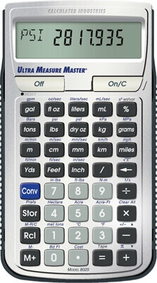 Calculated Industries Ultra Measure Master 8025 ES27