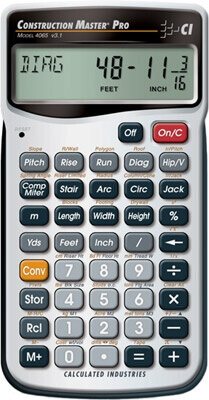 Calculated Industries Construction Master Pro (Handheld) 4065 ES833