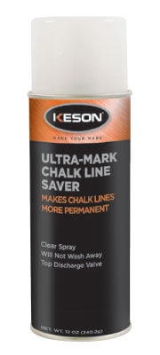 Keson Ultra-Mark Chalk Line Saver - CS20 (Case of 12 Cans)