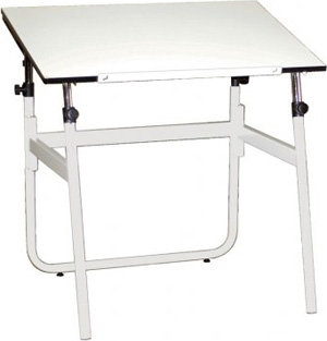 Mayline Stoway Art Table 7403APWH