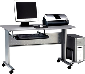 Mayline Crosswinds Mobile Computer Worktable - 8100TD ES1061
