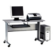 Mayline 8100TD - Crosswinds Mobile Computer Worktable (3 Colors Available) ES1061