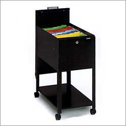 Mayline Letter Size Mobilizer with File and Lid 9P610