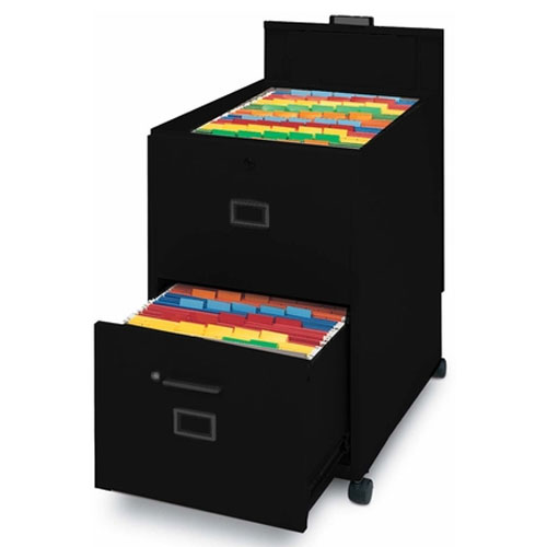Mayline Letter Size Mobilizer with File, Lid and Drawer 9P620