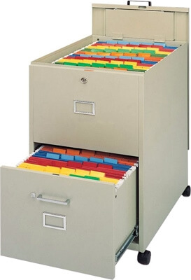 Mayline Legal Size Mobilizer with File, Lid and Drawer 9P621 (2 Colors Available) ES1349