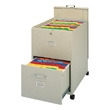 Mayline Legal Size Mobilizer with File, Lid and Drawer 9P621 ES1349