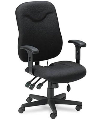 Mayline Comfort Series Executive Posture Chair 9414AG