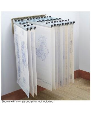 Safco pivot blueprint wall rack 5016 engineersupply safco pivot wall rack 5016 es115 malvernweather Images