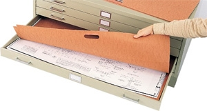 "Safco Plan File Portfolio for 24"" x 36"" Documents 3011"