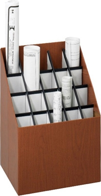 Safco Upright Roll File 20 Compartment Model 3081 ES132