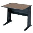 "Safco 36""W Reversible Top Computer Desk 1930 ES1877"