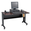 "Safco 54""W Reversible Top Mobile Desk 1933 ES1879"