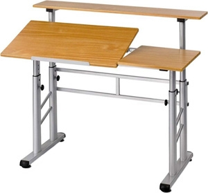 Safco height adjustable split level drafting table 3965mo safco height adjustable split level drafting table 3965mo malvernweather Gallery