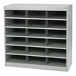 Safco EZ Stor Steel Project Organizer 18 Compartment 9264GR (Gray) ES2208
