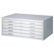 Facil Small Steel Flat File by Safco - 4969LG ES2262