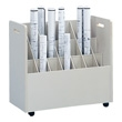 Safco Mobile Roll File 21 Compartment Model 3043 ES431