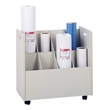 Safco Mobile Roll File 8 Compartment Model 3045 ES432