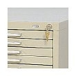 Safco Lock Kit 4983 (Use with 10-Drawer Cabinet 4986 ONLY) ES575