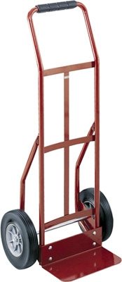safco continuous handle heavy duty hand truck 4092 - Heavy Duty Hand Truck