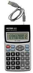 Victor Calculator 825 USB Mobile Keypad/Handheld Calculator ES1581
