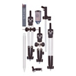 Alvin Combination Universal Speed Bow Set 729JS ES2387