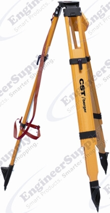 CST/berger Quick Clamp Wood/Fiberglass Tripod 60-WDF20-B