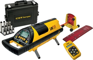 CST/berger Pipe Laser Kit 59-LMPL20