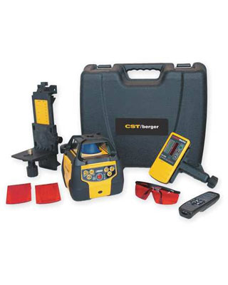 CST/berger LM800DP Rotary Laser Level Detector Package 57-LM800DPDI ES2634